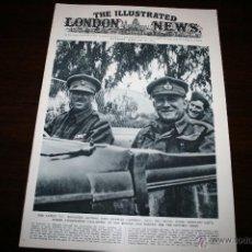 Militaria: THE ILLUSTRATED LONDON NEWS - 14/FEBRERO/1942 - PORTADA BRIGADIER CAMPBELL. Lote 39340463