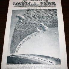 Militaria: THE ILLUSTRATED LONDON NEWS - 21/FEBRERO/1942 - DESPLEGABLE DE 4 PÁGINAS. Lote 39340512
