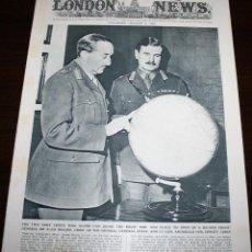 Militaria: THE ILLUSTRATED LONDON NEWS - 8/AGOSTO/1942 - PORTADA GENERALES BROOKE Y NYE. Lote 53270213