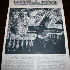 Militaria: THE ILLUSTRATED LONDON NEWS - 5/DICIEMBRE/1942 - PORTADA, FLOTA FRANCESA. Lote 39347219