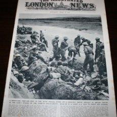 Militaria: THE ILLUSTRATED LONDON NEWS - 10/ABRIL/1943 - PORTADA, SOLDADOS BRITÁNICOS. Lote 39348245