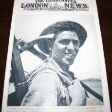 Militaria: THE ILLUSTRATED LONDON NEWS - 17/ABRIL/1943 - PORTADA, SOLDADO DEL DESIERTO. Lote 39348255
