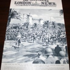 Militaria: THE ILLUSTRATED LONDON NEWS - 5/JUNIO/1943 - VICTORIA EN TUNEZ. Lote 39348281