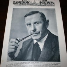 Militaria: THE ILLUSTRATED LONDON NEWS - 12/JUNIO/1943 - PORTADA - MARSHAL HUGH DOWDING. Lote 39348286