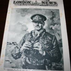 Militaria: THE ILLUSTRATED LONDON NEWS - 19/JUNIO/1943 - PORTADA, GENERAL BERNARD FREYBERG. Lote 39348290