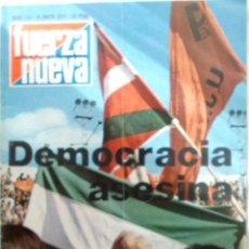 Militaria: REVISTA DE FUERZA NUEVA . Lote 39367461