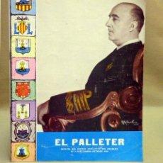 Militaria: REVISTA MILITAR DEL RECREO EDUCATIVO DEL SOLDADO, EL PALLETER, Nº 5, 1966, FRANCO, VIZCAYA 21. Lote 39415168