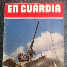 Militaria: ANTIGUA REVISTA EN GUARDIA, PARA LA DEFENSA DE LAS AMERICAS, AÑO 2 NO.11, SEGUNDA GUERRA MUNDIAL. Lote 39622489