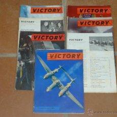 Militaria: LOTE DE 7 REVISTA VICTORY, AMERICANA DE SEGUNDA GUERRA MUNDIAL. . Lote 39772011