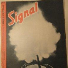 Militaria: REVISTA SIGNAL SP Nº20 - 2º NUMERO OCTUBRE 1942. Lote 40053786