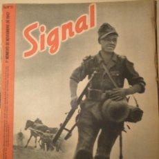 Militaria: REVISTA SIGNAL SP Nº21 - 1 ER NUMERO NOVIEMBRE 1942. Lote 40053928