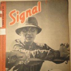 Militaria: REVISTA SIGNAL SP Nº6 - 2º NUMERO MARZO DE 1942. Lote 40054398