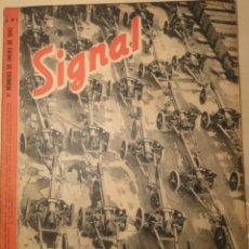 Militaria: REVISTA SIGNAL SP Nº1 - 1ER NUMERO ENERO 1943. Lote 40054472