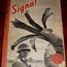 Militaria: ANTIGUA REVISTA SIGNAL - SP Nº 21 - 1º NUMERO NOVIEMBRE DE 1941 EN CASTELLANO - CONTIENE 47 PAGINAS . Lote 38238530