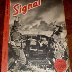 Militaria: ANTIGUA REVISTA SIGNAL - SP Nº 22 - 2º NUMERO NOVIEMBRE DE 1941 EN CASTELLANO - CONTIENE 47 PAGINAS . Lote 38238531