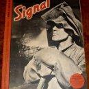 Militaria: ANTIGUA REVISTA SIGNAL - SP Nº 7 - 1º Nº ABRIL 1942 EN CASTELLANO - CONTIENE 47 PAGINAS - MUCHISIM. Lote 38238540