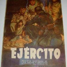 Militaria: EJÉRCITO. REVISTA ILUSTRADA DE LAS ARMAS Y SERVICIOS Nº 47 DICIEMBRE 1943 - MINISTERIO DEL EJÉRCITO. Lote 38241916
