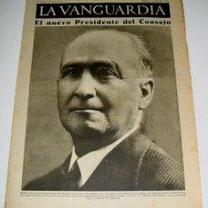 Militaria: LA VANGUARDIA AÑO 1936 - GUERRA CIVIL - 4 PAG - 5 DE SEPTIEMBRE DE 1936 - MUCHAS FOTOS - VISTO DESDE. Lote 38242165