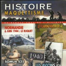 Militaria: REVISTA HISTOIRE MAQUETTISMENº 66. Lote 40428178