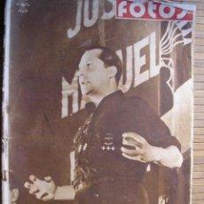 Militaria: PERIODICO FOTOS SEMANARIO GRAFICO NACIONALSINDICALISTA 1939 ESPECIAL PRIMO DE RIBERA. Lote 40507170