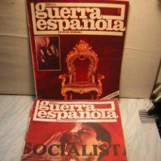 Militaria: REVISTA CRONICA DE LA GUERRA ESPAÑOLA - LOTE DE 16 REVISTAS Nº1,2,4,14 AL 26 . Lote 40614987