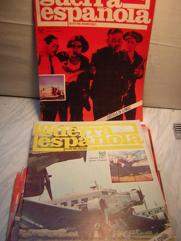 Militaria: REVISTA CRONICA DE LA GUERRA ESPAÑOLA - LOTE DE 16 REVISTAS Nº1,2,4,14 AL 26 - Foto 3 - 40614987