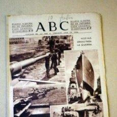 Militaria: DIARIO ILUSTRADO, PERIODICO, ABC, 1943, NUEVA ARMAS PARA LA GUERRA. Lote 41200873