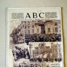 Militaria: DIARIO ILUSTRADO, PERIODICO, ABC, 1943, MADRID LIBERADO. Lote 41201453