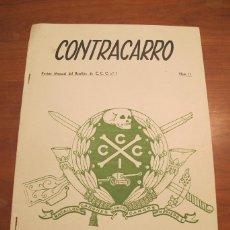 Militaria - REVISTA CONTRACARRO Nº 11 - REVISTA MENSUAL DEL BATALLON DE C.C.C. Nº1- BARCELONA -AÑO 1956. R-2099 - 42289814