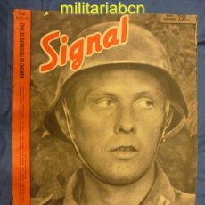 Militaria: ALEMANIA III REICH. REVISTA SIGNAL. EN CASTELLANO. Nº 23-24 DICIEMBRE 1942.. Lote 42383500