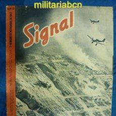Militaria: ALEMANIA III REICH. REVISTA SIGNAL. EN CASTELLANO. Nº 22 NOVIEMBRE 1942.. Lote 42383530
