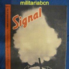 Militaria: ALEMANIA III REICH. REVISTA SIGNAL. EN CASTELLANO. Nº 20 OCTUBRE 1942.. Lote 42383585