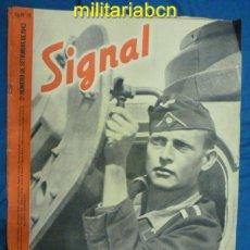 Militaria: ALEMANIA III REICH. REVISTA SIGNAL. EN CASTELLANO. Nº 18 SEPTIEMBRE 1942.. Lote 42383650