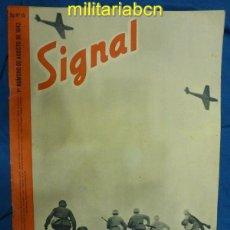 Militaria: ALEMANIA III REICH. REVISTA SIGNAL. EN CASTELLANO. Nº 15 AGOSTO 1942.. Lote 42383820