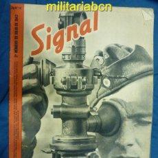Militaria: ALEMANIA III REICH. REVISTA SIGNAL. EN CASTELLANO. Nº 14 JULIO 1942.. Lote 42386306