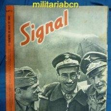 Militaria: ALEMANIA III REICH. REVISTA SIGNAL. EN CASTELLANO. Nº 13 JULIO 1942.. Lote 42386337