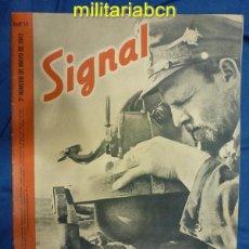 Militaria: ALEMANIA III REICH. REVISTA SIGNAL. EN CASTELLANO. Nº 10 MAYO 1942.. Lote 42386405