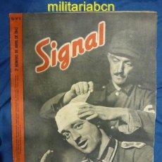 Militaria: ALEMANIA III REICH. REVISTA SIGNAL. EN CASTELLANO. Nº 8 ABRIL 1942.. Lote 42386452