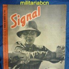Militaria: ALEMANIA III REICH. REVISTA SIGNAL. EN CASTELLANO. Nº 6 MARZO 1942.. Lote 42386529