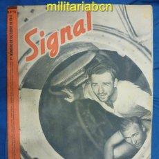 Militaria: ALEMANIA III REICH. REVISTA SIGNAL. EN CASTELLANO. Nº 19 OCTUBRE 1941.. Lote 42387383