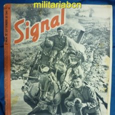 Militaria: ALEMANIA III REICH. REVISTA SIGNAL. EN CASTELLANO. Nº 18 SEPTIEMBRE 1941.. Lote 42387418