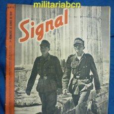 Militaria: ALEMANIA III REICH. REVISTA SIGNAL. EN CASTELLANO. Nº 11 JUNIO 1941.. Lote 42387592