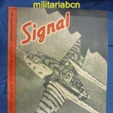 Militaria: ALEMANIA III REICH. REVISTA SIGNAL. EN CASTELLANO. Nº 22 NOVIEMBRE 1943.. Lote 42388443