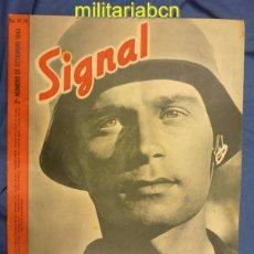 Militaria: ALEMANIA III REICH. REVISTA SIGNAL. EN CASTELLANO. Nº 18 SEPTIEMBRE 1943.. Lote 42388614