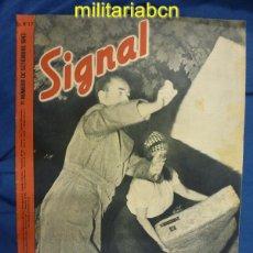 Militaria: ALEMANIA III REICH. REVISTA SIGNAL. EN CASTELLANO. Nº 17 SEPTIEMBRE 1943.. Lote 42388649