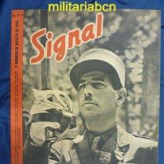 Militaria: ALEMANIA III REICH. REVISTA SIGNAL. EN CASTELLANO. Nº 16 AGOSTO 1943.. Lote 42388686
