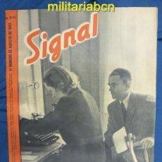 Militaria: ALEMANIA III REICH. REVISTA SIGNAL. EN CASTELLANO. Nº 15 AGOSTO 1943.. Lote 42388716