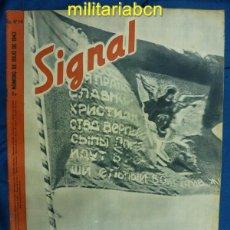 Militaria: ALEMANIA III REICH. REVISTA SIGNAL. EN CASTELLANO. Nº 14 JULIO 1943.. Lote 42388736