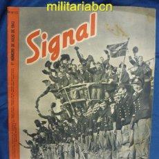 Militaria: ALEMANIA III REICH. REVISTA SIGNAL. EN CASTELLANO. Nº 13 JULIO 1943.. Lote 42388771