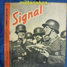 Militaria: ALEMANIA III REICH. REVISTA SIGNAL. EN CASTELLANO. Nº 12 JUNIO 1943.. Lote 42388796